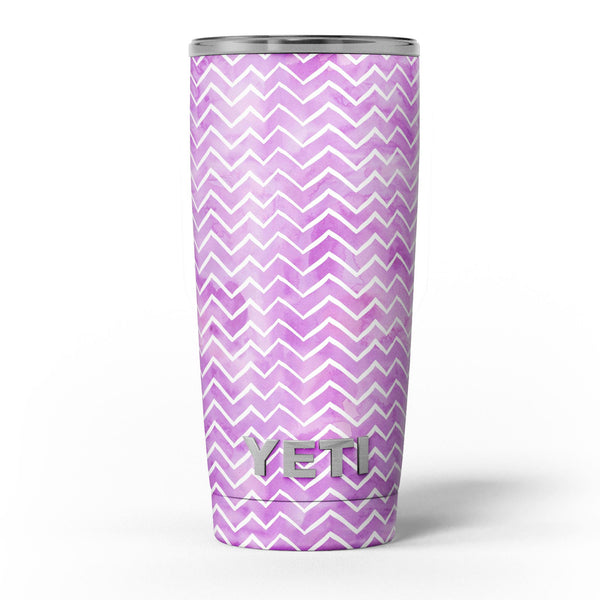 White_Chevron_Over_Purple_Grunge_Surface_-_Yeti_Rambler_Skin_Kit_-_20oz_-_V5.jpg