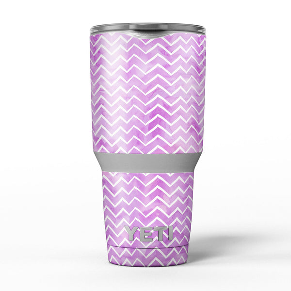 White_Chevron_Over_Purple_Grunge_Surface_-_Yeti_Rambler_Skin_Kit_-_30oz_-_V5.jpg