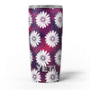 White_Floral_Pattern_Over_Red_and_Purple_Grunge_-_Yeti_Rambler_Skin_Kit_-_20oz_-_V5.jpg