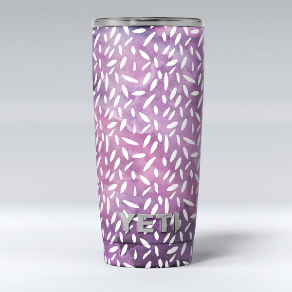 White_Flower_Pedals_Over_Purple_Grunge_Surface_-_Yeti_Rambler_Skin_Kit_-_20oz_-_V1.jpg