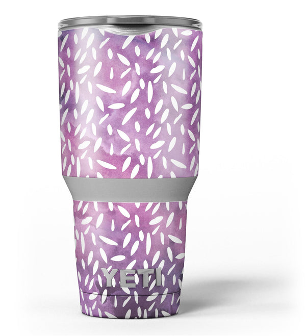 White_Flower_Pedals_Over_Purple_Grunge_Surface_-_Yeti_Rambler_Skin_Kit_-_30oz_-_V3.jpg