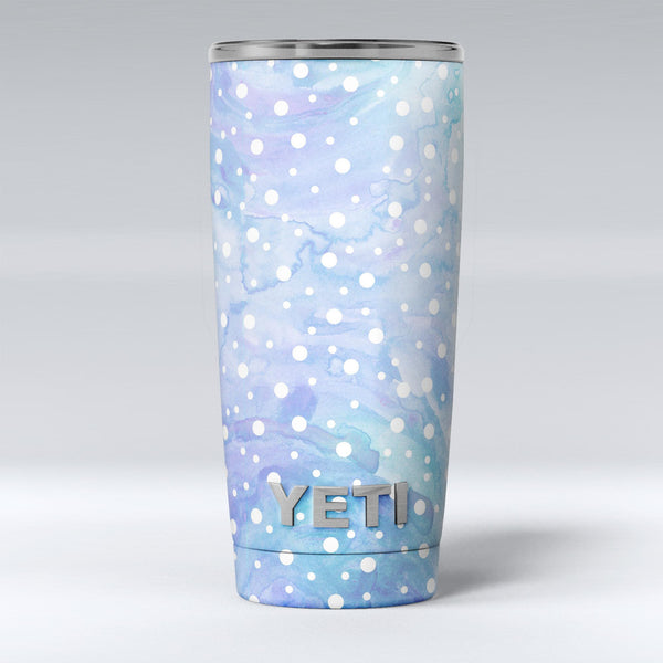 White_Mircro_Dots_Over_Blue_Watercolor_Grunge_-_Yeti_Rambler_Skin_Kit_-_20oz_-_V1.jpg