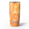 White_Polka_Dots_Over_Orange_Watercolor_Grunge_-_Yeti_Rambler_Skin_Kit_-_20oz_-_V5.jpg