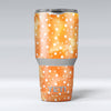 White_Polka_Dots_Over_Orange_Watercolor_Grunge_-_Yeti_Rambler_Skin_Kit_-_30oz_-_V1.jpg