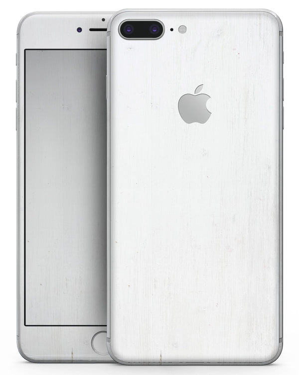White Washed Woodgrain - Skin-kit for the iPhone 8 or 8 Plus