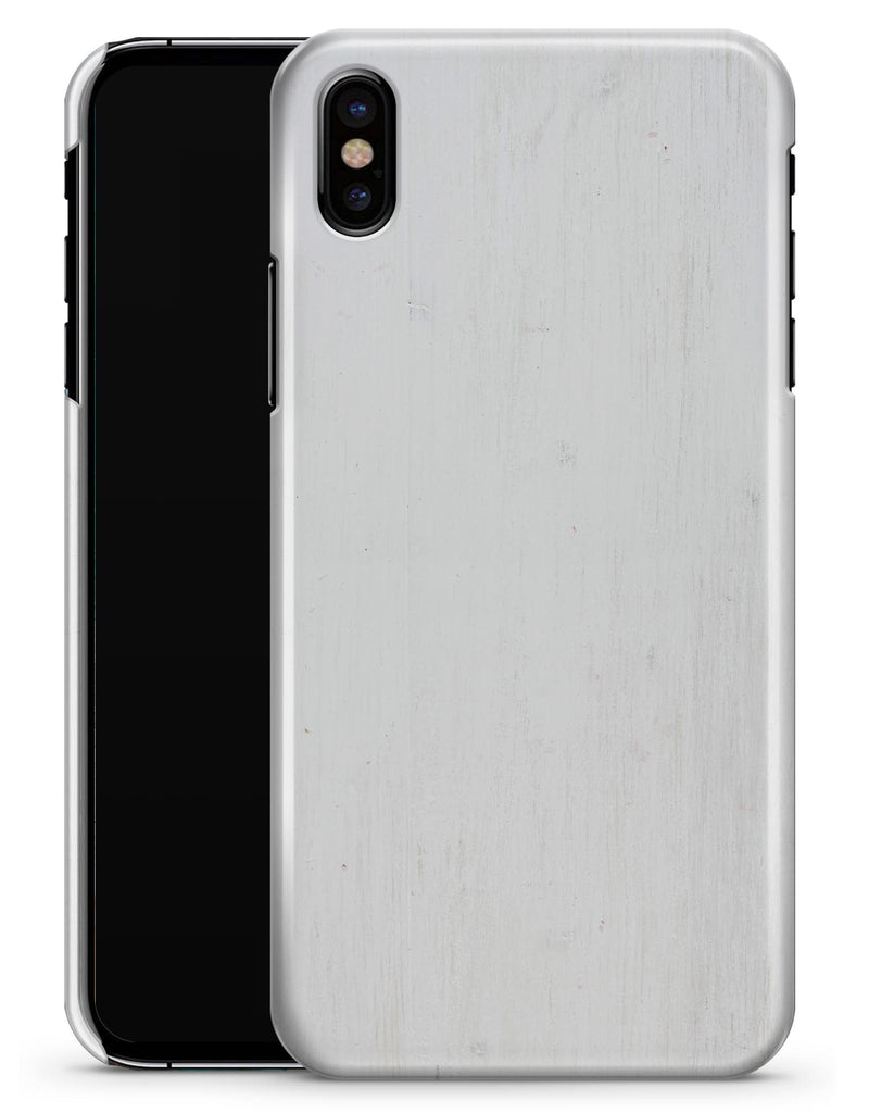 White Washed Woodgrain - iPhone X Clipit Case