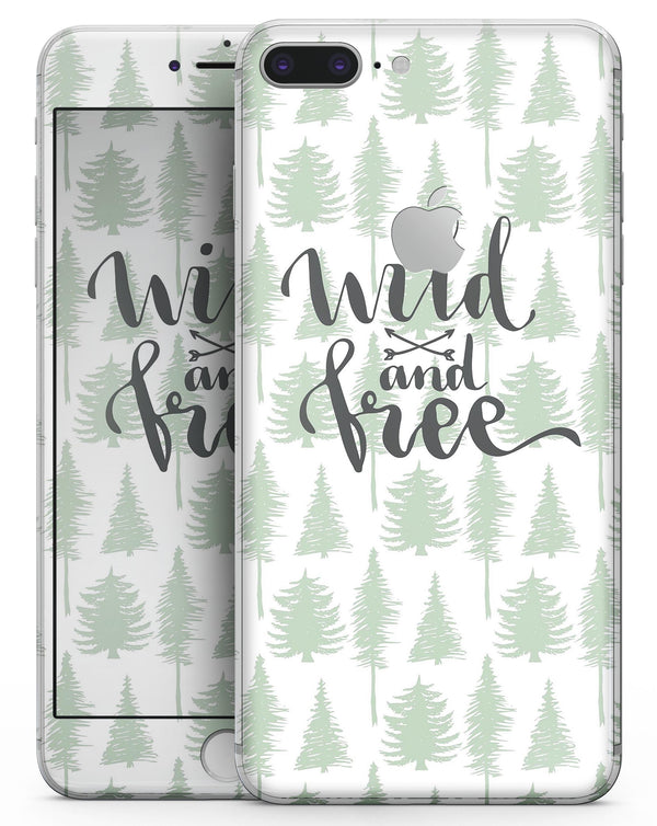 Wild and Free - Skin-kit for the iPhone 8 or 8 Plus