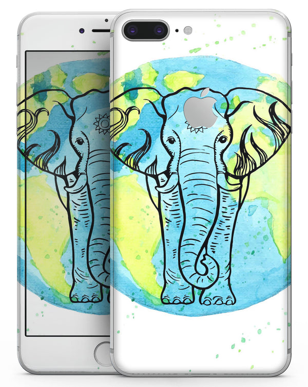Worldwide Sacred Elephant - Skin-kit for the iPhone 8 or 8 Plus