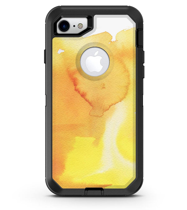 Yellow 53 Absorbed Watercolor Texture - iPhone 7 or 8 OtterBox Case & Skin Kits