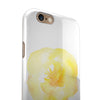 Yellow Orange Watercolored Hibiscus iPhone 6/6s or 6/6s Plus 2-Piece Hybrid INK-Fuzed Case