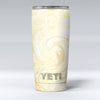 Yellow Slate Marble Surface V21 Yeti Rambler Skin Kit