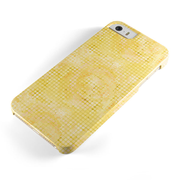 Yellow_Watercolor_Polka_Dots_-_iPhone_5s_-_Gold_-_One_Piece_Glossy_-_V1.jpg
