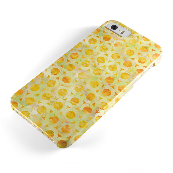 Yellow_Watercolor_Ring_Pattern_-_iPhone_5s_-_Gold_-_One_Piece_Glossy_-_V1.jpg