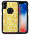 Yellow Watercolor Ring Pattern - iPhone X OtterBox Case & Skin Kits