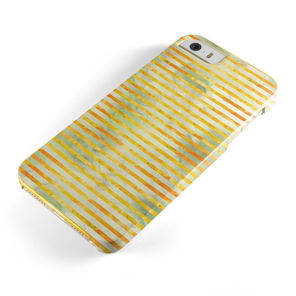 Yellow_Watercolor_Stripes_-_iPhone_5s_-_Gold_-_One_Piece_Glossy_-_V1.jpg