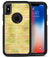 Yellow Watercolor Stripes - iPhone X OtterBox Case & Skin Kits