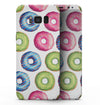 Yummy Colored Donut Galore - Samsung Galaxy S8 Full-Body Skin Kit