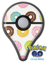 Yummy Colored Donuts Pokémon GO Plus Vinyl Protective Decal Skin Kit