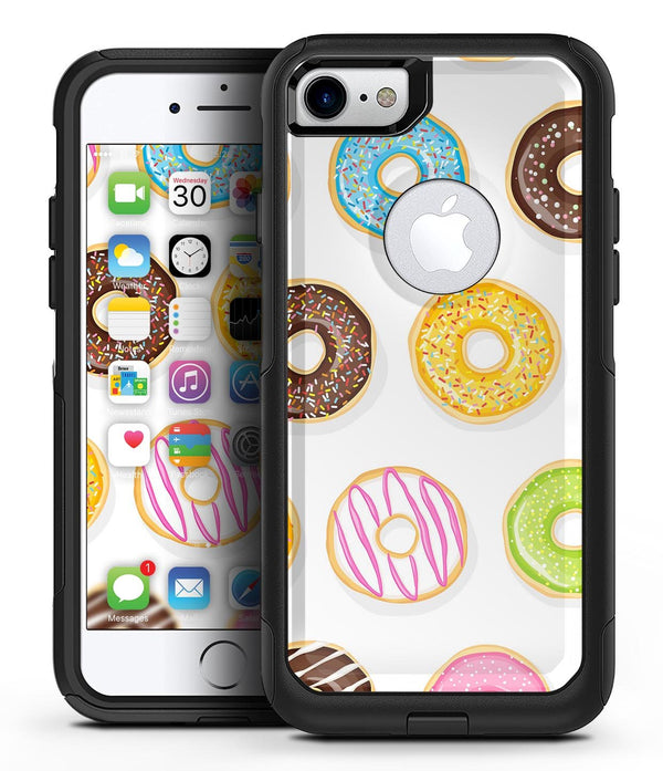 Yummy Colored Donuts 2 - iPhone 7 or 8 OtterBox Case & Skin Kits