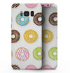 Yummy Colored Donuts - Samsung Galaxy S8 Full-Body Skin Kit