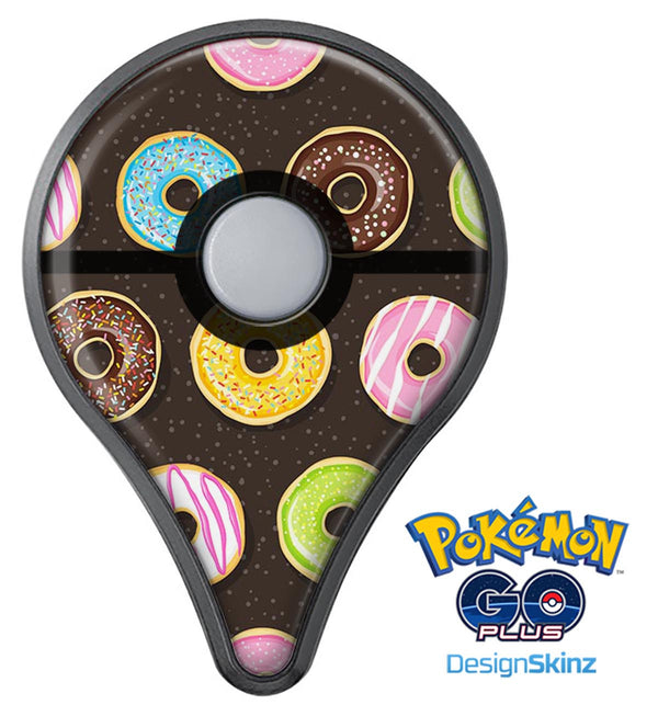 Yummy Colored Donuts v2 Pokémon GO Plus Vinyl Protective Decal Skin Kit