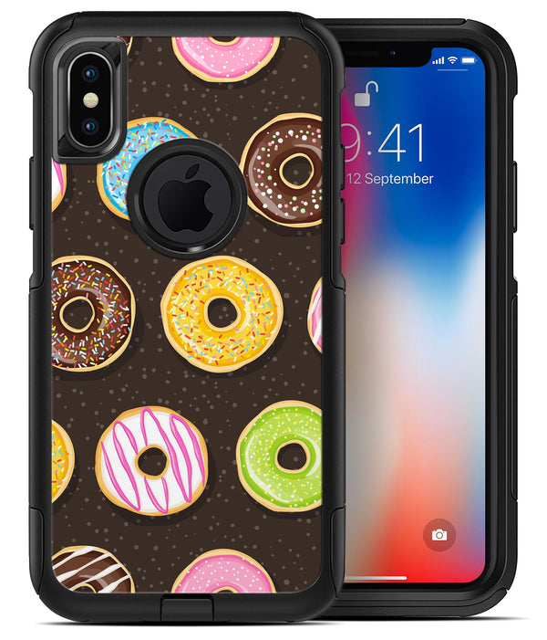 Yummy Colored Donuts v2 2 - iPhone X OtterBox Case & Skin Kits