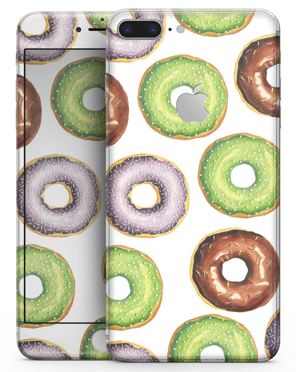 Yummy Donuts Galore - Skin-kit for the iPhone 8 or 8 Plus