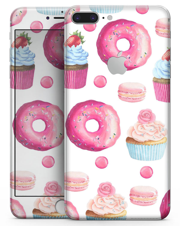 Yummy Galore Bakery Treats - Skin-kit for the iPhone 8 or 8 Plus