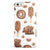 Yummy Galore Bakery Treats v2 iPhone 5/5s or SE INK-Fuzed Case