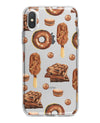 Yummy Galore Bakery Treats v2 - Crystal Clear Hard Case for the iPhone XS MAX, XS & More (ALL AVAILABLE)