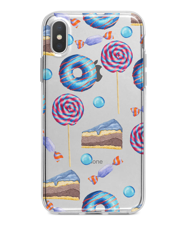 Yummy Galore Bakery Treats v4 - Crystal Clear Hard Case for the iPhone XS MAX, XS & More (ALL AVAILABLE)