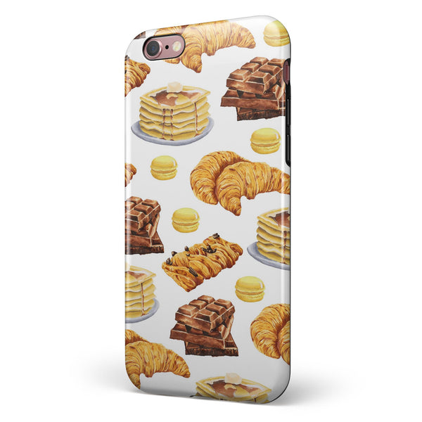 Yummy Galore Bakery Treats v5 iPhone 6/6s or 6/6s Plus 2-Piece Hybrid INK-Fuzed Case