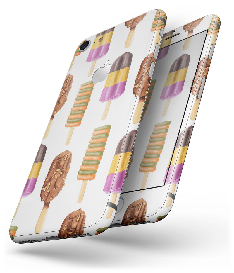 Yummy Galore Ice Cream Treats - Skin-kit for the iPhone 8 or 8 Plus
