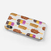 Yummy Galore Ice Cream Treats - Crystal Clear Hard Case for the iPhone XS MAX, XS & More (ALL AVAILABLE)