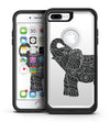 Zendoodle Elephant - iPhone 7 or 7 Plus Commuter Case Skin Kit