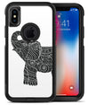 Zendoodle Elephant - iPhone X OtterBox Case & Skin Kits