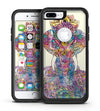 Zendoodle Sacred Elephant - iPhone 7 or 7 Plus Commuter Case Skin Kit