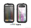 The Abstract Color Butterfly Shadows Skin For The Samsung Galaxy S3 LifeProof Case