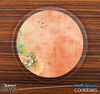 The Coral Vintage Skinned Foam-Backed Coaster Set
