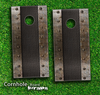 Rustic Metal Sheet Skin-set for a pair of Cornhole Boards