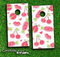 Sweet Stuff Pink Skin-set for a pair of Cornhole Boards