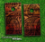 Tattooed Wood Skin-set for a pair of Cornhole Boards