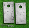 Grungy Gray Texture Skin-set for a pair of Cornhole Boards