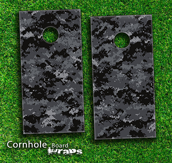 Digital Camo V3 Skin-set for a pair of Cornhole Boards