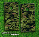 Digital Camo V1 Skin-set for a pair of Cornhole Boards