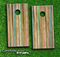 Vintage Stripe Skin-set for a pair of Cornhole Boards