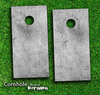 Concrete Grunge Skin-set for a pair of Cornhole Boards