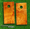 Orange Land Skin-set for a pair of Cornhole Boards