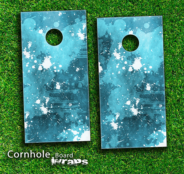 Backyard Games Cornhole Bag Toss Splatter Cornhole Board Set