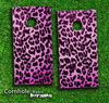 Pink Cheetah Print Skin-set for a pair of Cornhole Boards